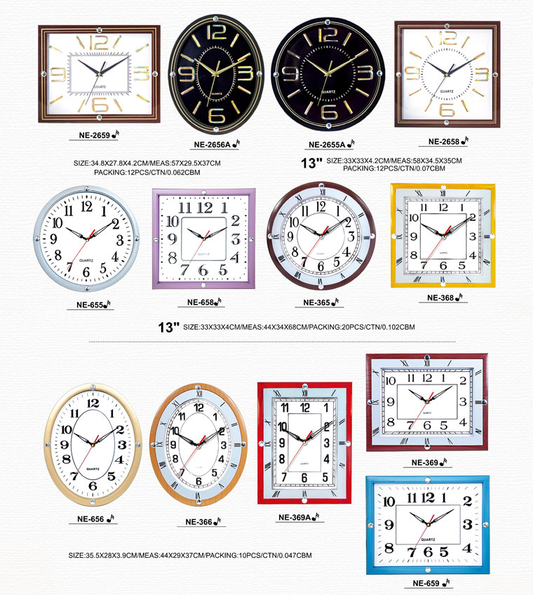Page069 Silk Printing Glass Clocks