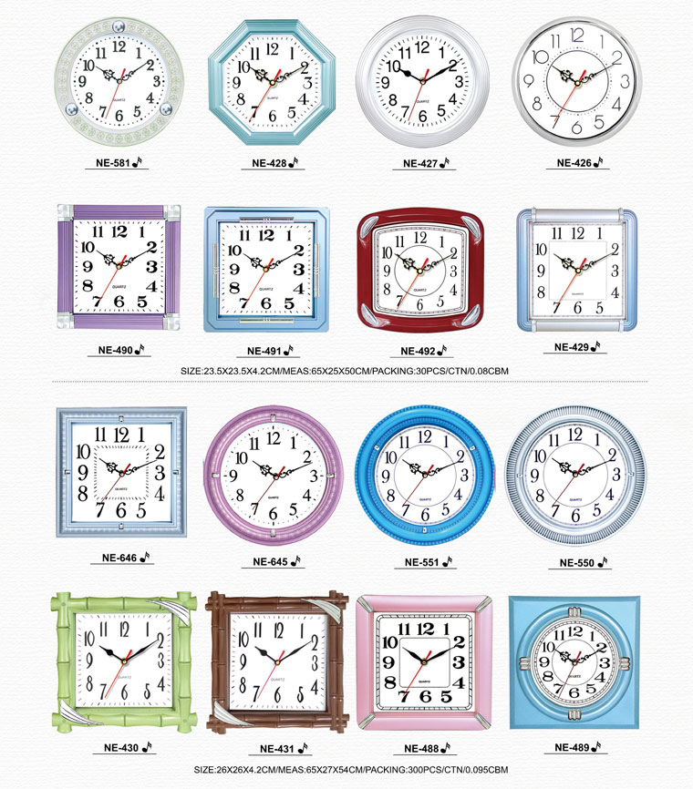Page061 Fashionable and Simpie Clocks