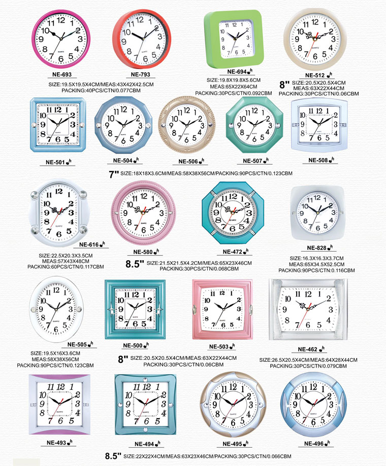 Page062 Fashionable and Simpie Clocks