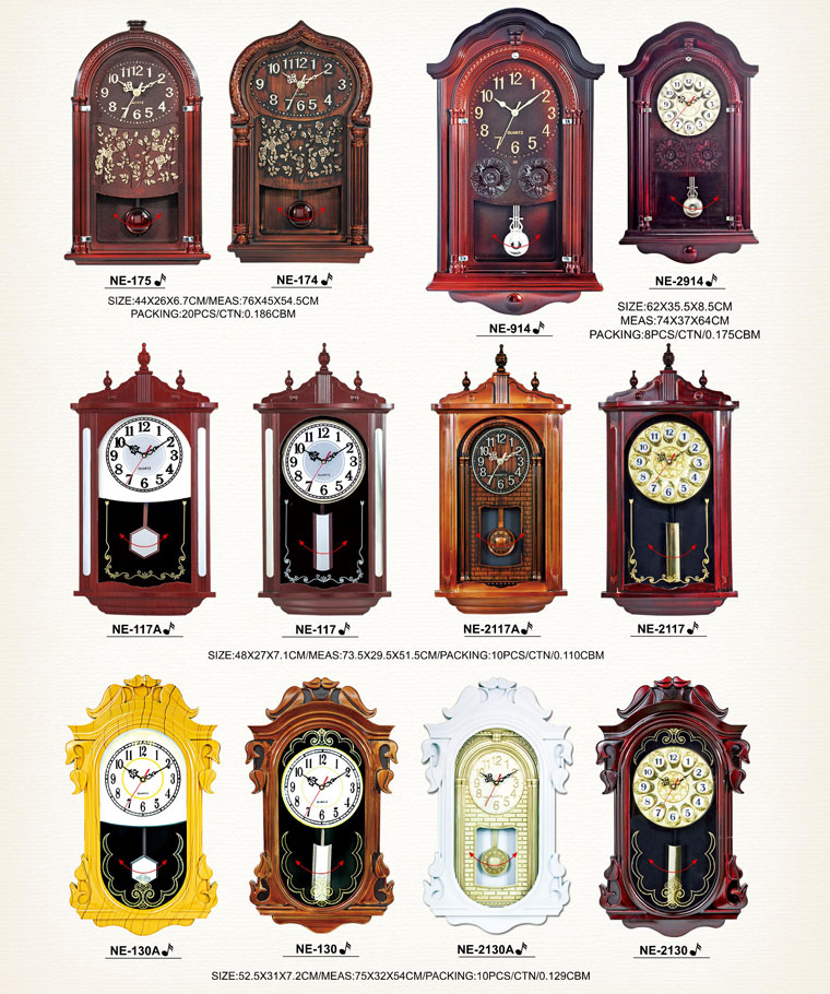 Page004 Fashionable and Simpie Clocks