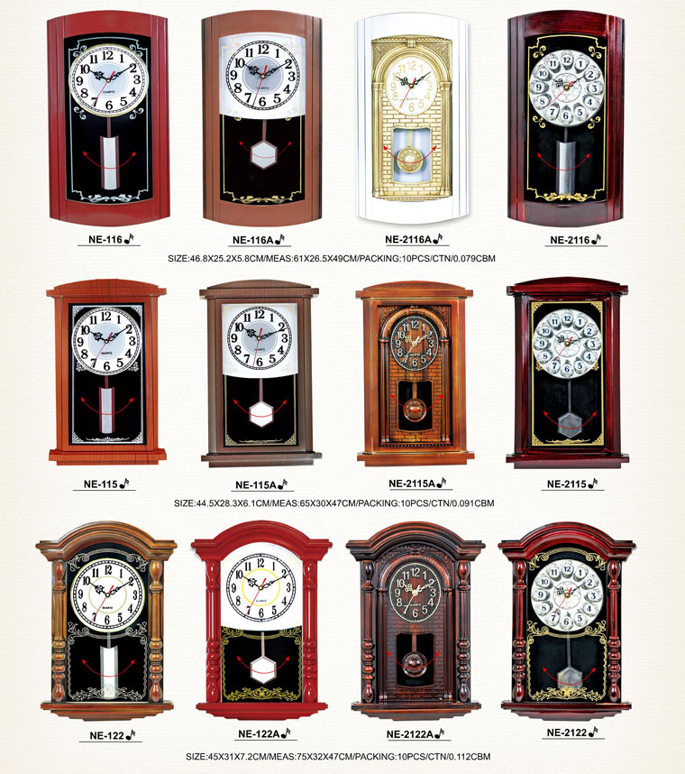 Page006 Fashionable and Simpie Clocks