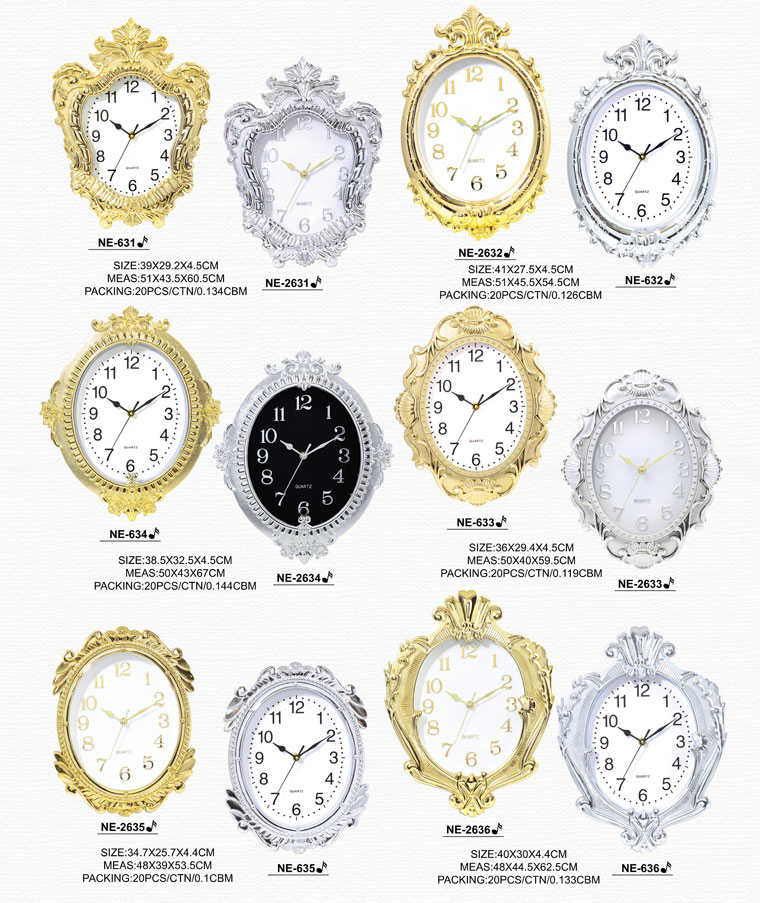 Page009 Fashionable and Simpie Clocks