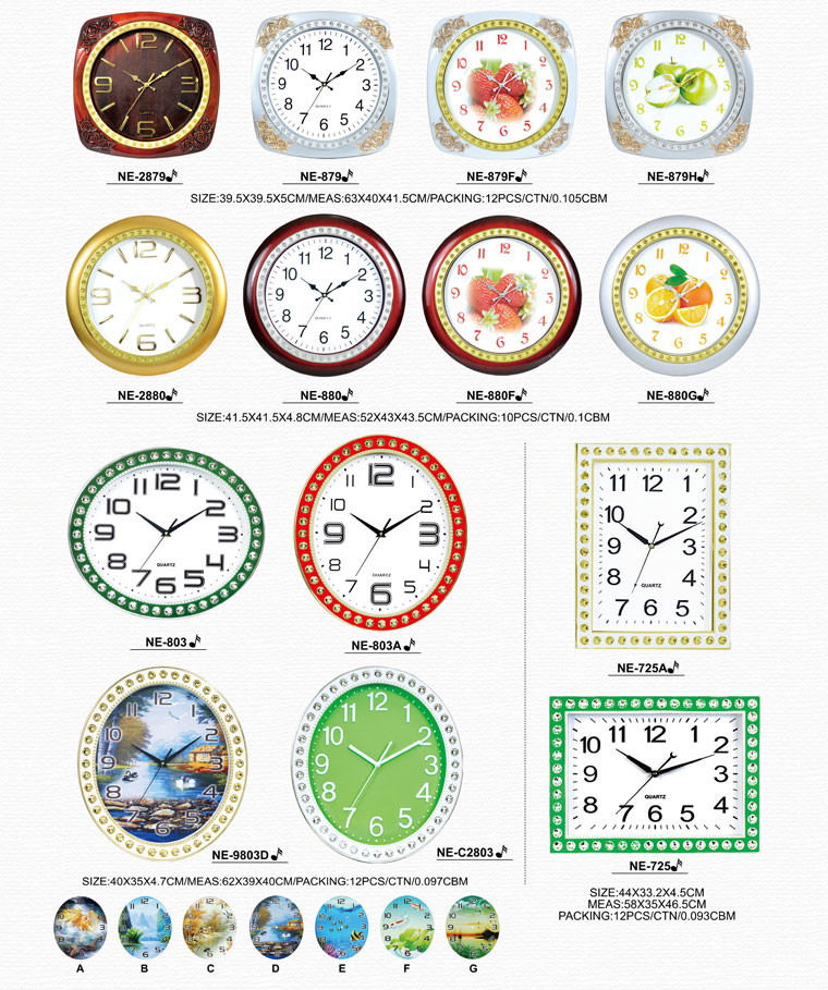 Page011 Fashionable and Simpie Clocks