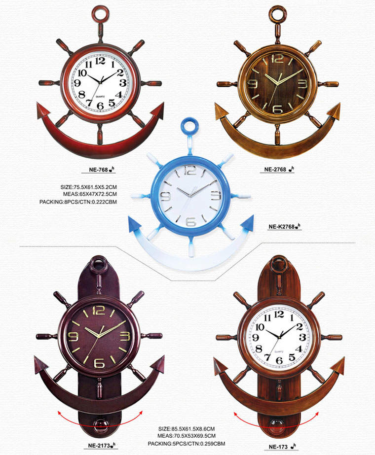 Page001 Fashionable and Simpie Clocks